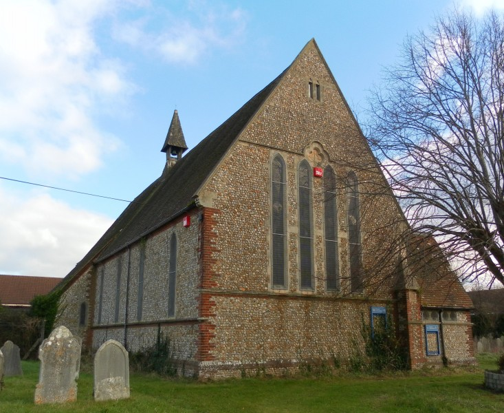 Former All Saints Church, Church Road, Portfield, Chichester