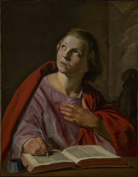 Frans Hals - De heilige Johannes de Evangelist (Getty Center)