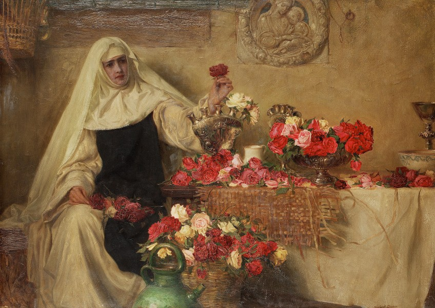 Herbert James Draper For Saint Dorothea's Day 1899