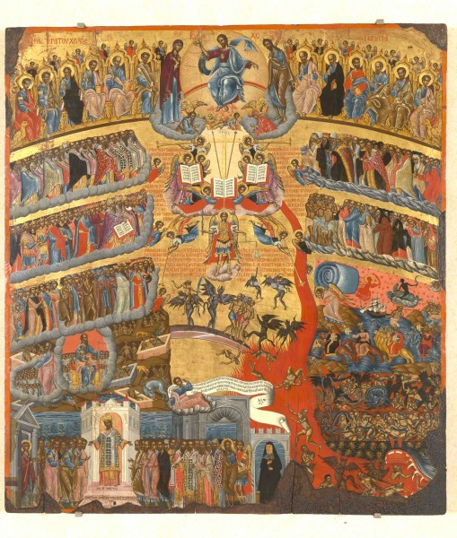 Last Judgment by F.Kavertzas (1640-41)