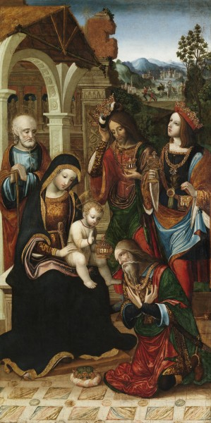 Master of the Glasgow Adoration, Adoration of the Magi