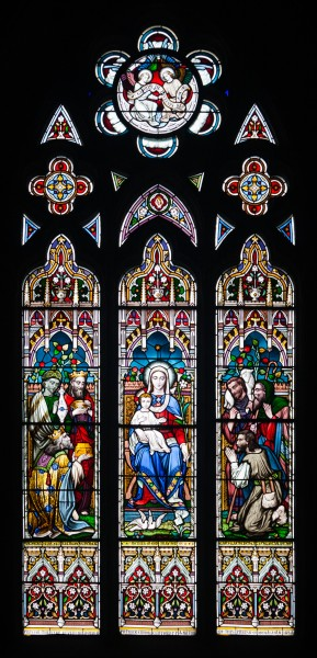 Monaghan Saint Macartan's Cathedral Window Madonna and Child 2013 09 21