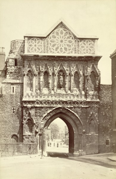 Norwich Cathedral. Saint Ethelbert's Gate (3611572860)