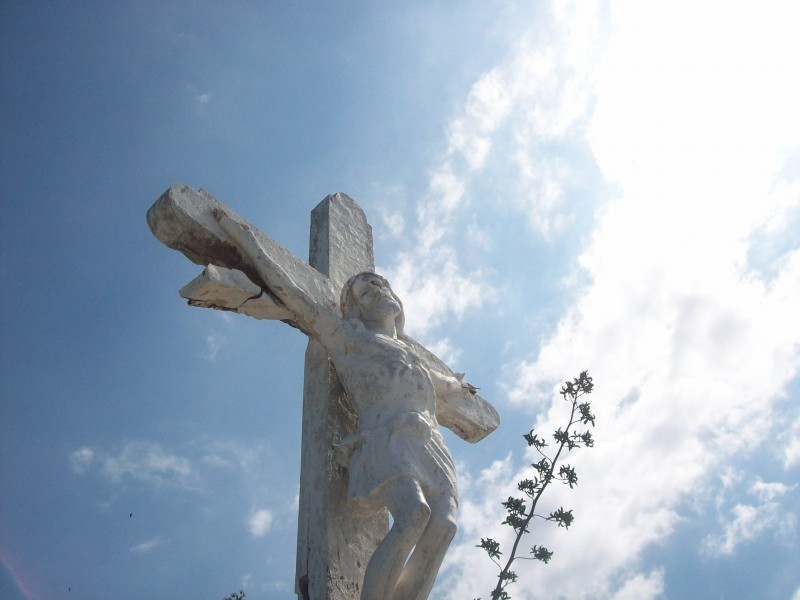 Sculpture of Christ in Venezuela