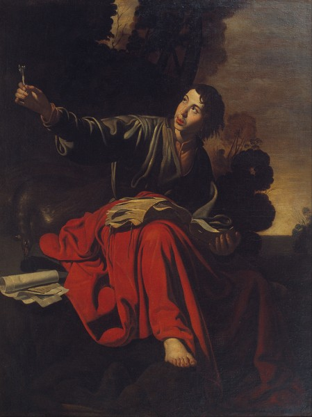 Saint John the Evangelist at Patmos - Google Art Project