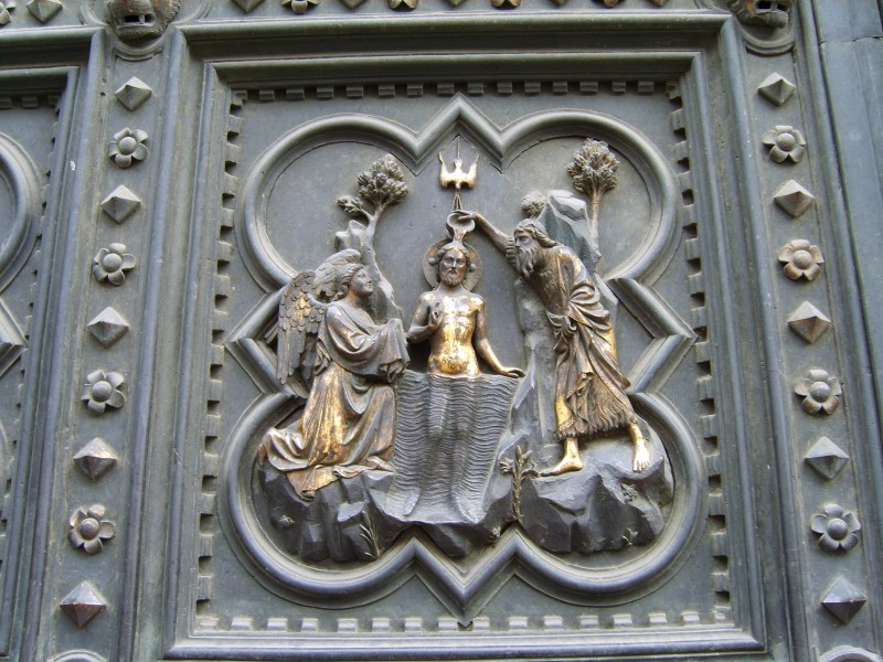 South Doors of the Florence Baptistry - Detail 2
