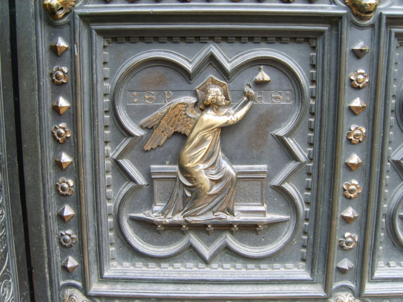 South Doors of the Florence Baptistry - Detail 3