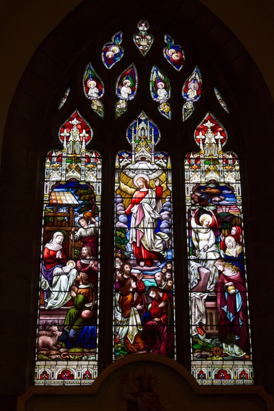 St Clement Church, stained glass window 08