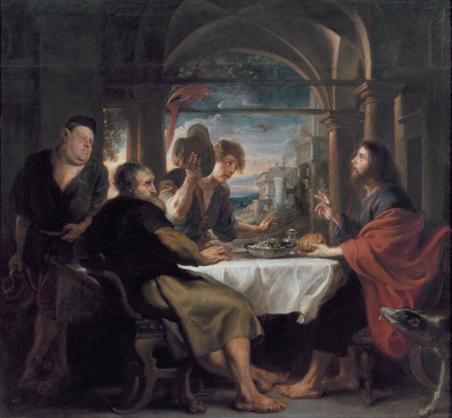 Supper at Emmaus, by Peter Paul Rubens