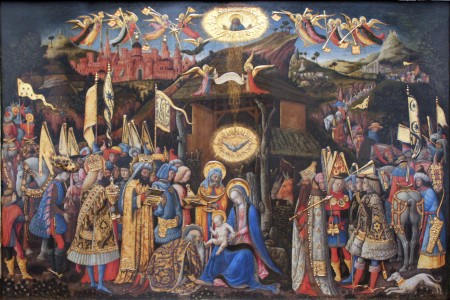 1418 Antonio Vivarini Adoration of the Magi anagoria