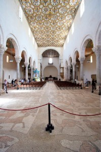 Otranto cathedral interior