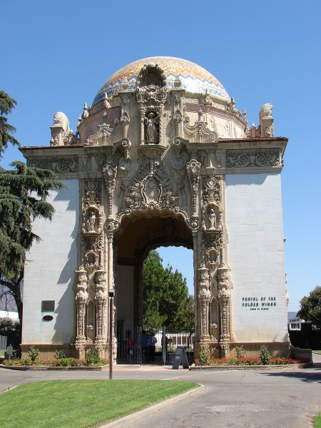 Folded Wings Shrine portal