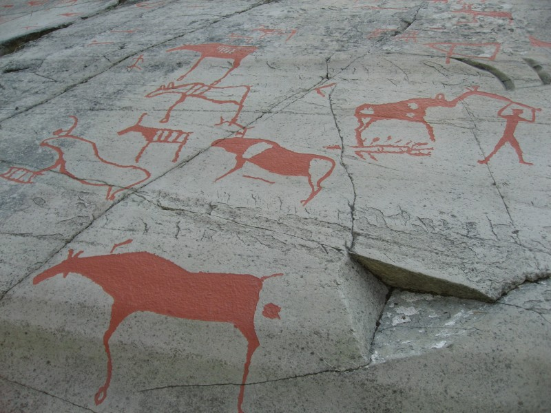 Rock drawings of Alta