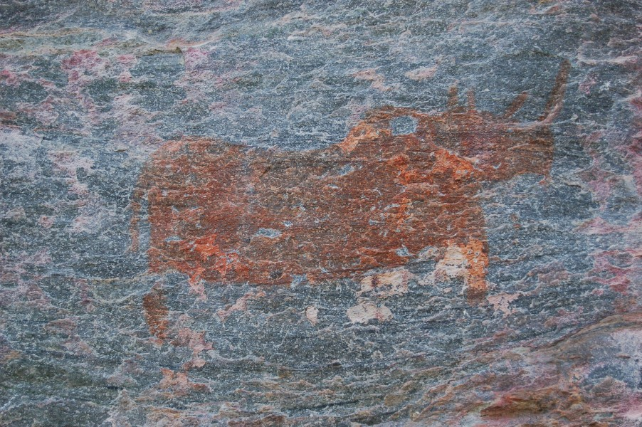Tsodilo Hills rock paintings1