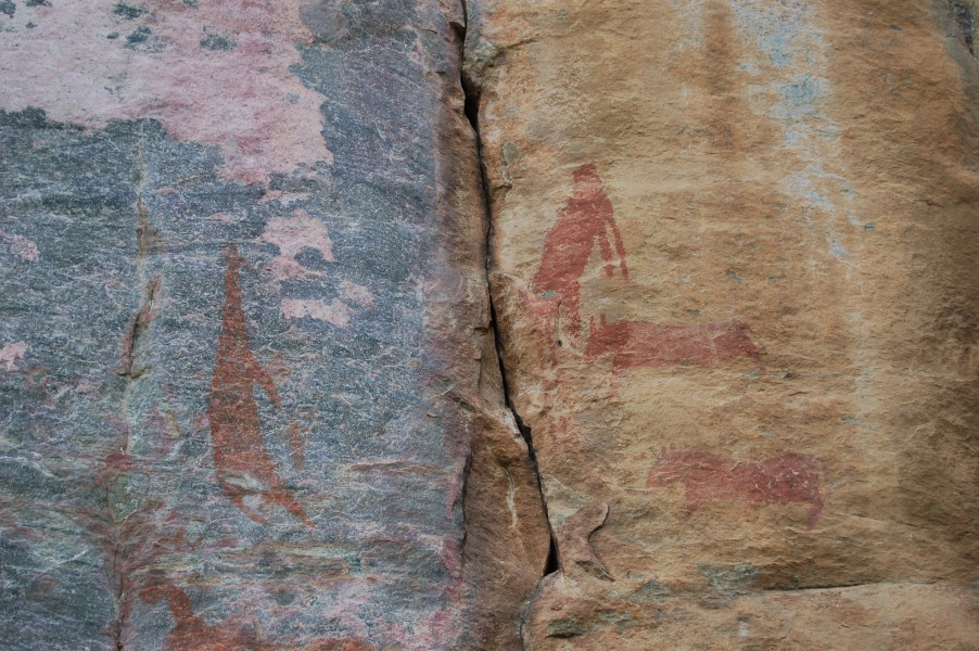 Tsodilo Hills rock paintings5