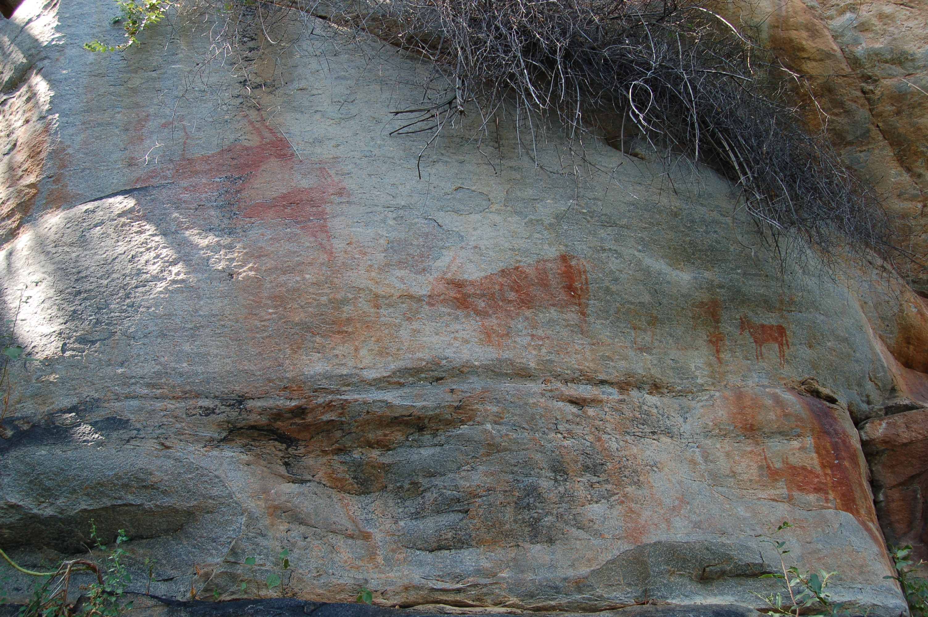 Tsodilo Hills rock paintings2