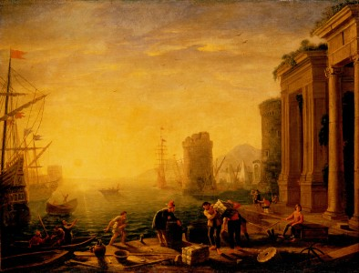 Gellee, Claude (Le Lorrain) - Morning in the Harbour