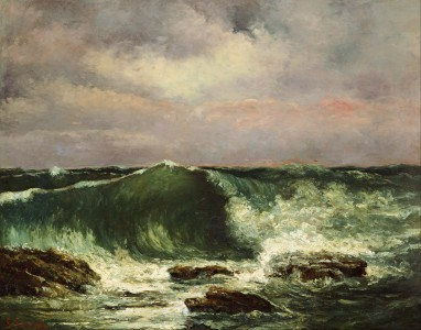 Gustave Courbet - Waves - Google Art Project
