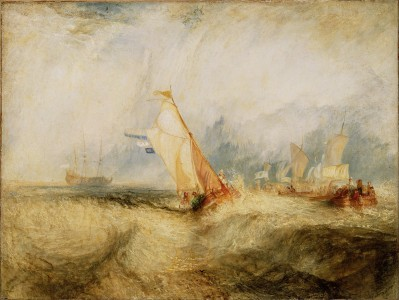 Joseph Mallord William Turner (British - Van Tromp, Going About to Please His Masters - Google Art Project