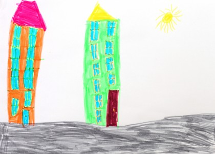 a painting by a 4 to 6 year old girl, picture 10