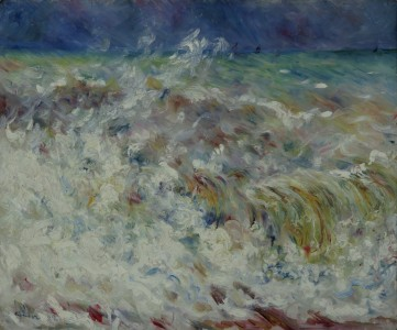 The Wave - Pierre-Auguste Renoir - Google Cultural Institute