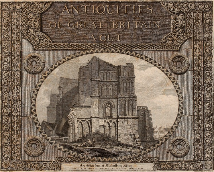 Antiquities of Great Britain, - illustrated in views of monasteries, castles, and churches, now existing. (1807) (14577053787)
