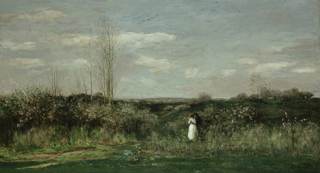 Charles-François Daubigny - Le printemps - Google Art Project