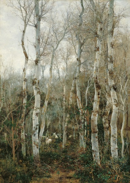 Emilio Sánchez-Perrier Winter in Andalusia 1880
