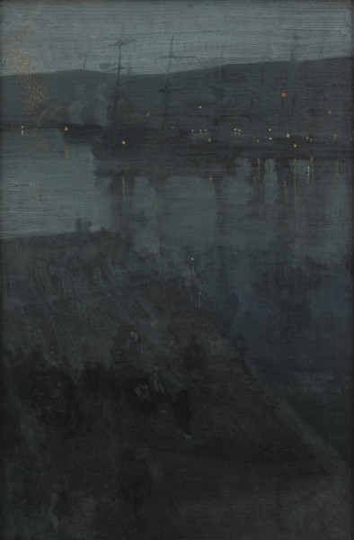 James McNeill Whistler - Nocturne in Blue and Gold- Valparaiso - Google Art Project