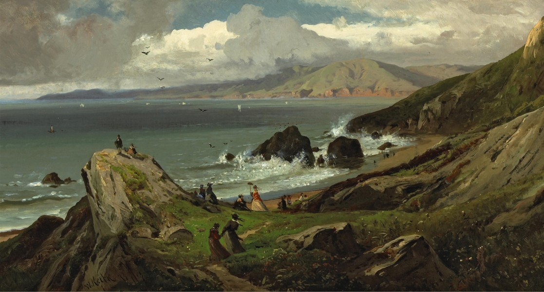 Land's End by William Keith, 1873