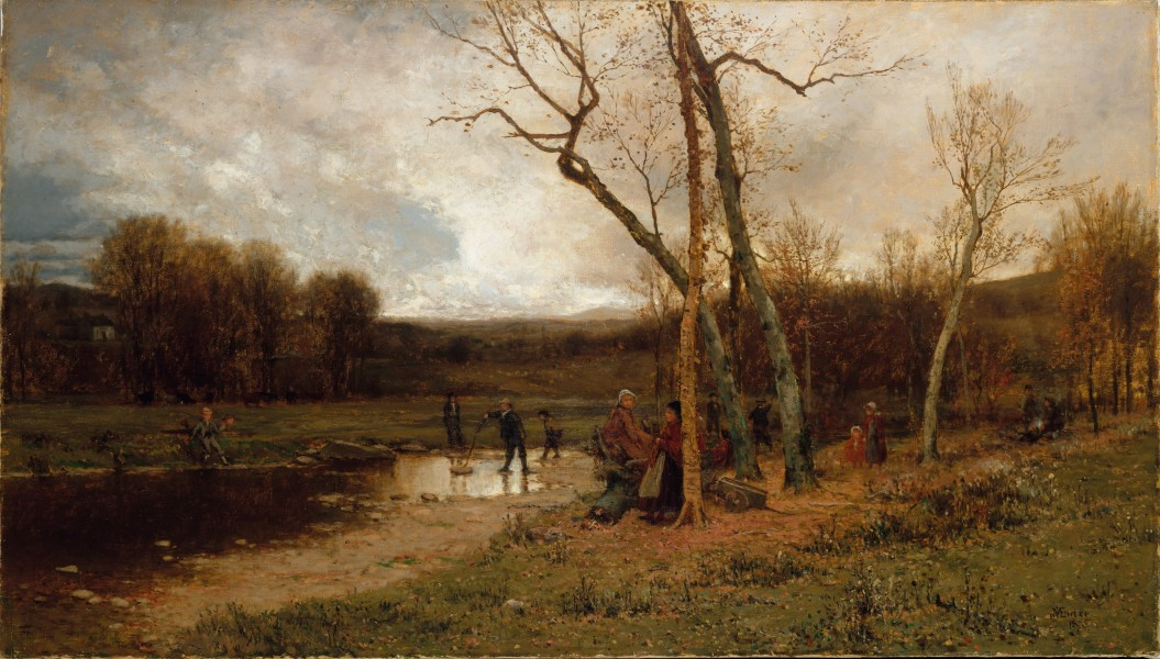 McEntee Jervis Saturday Afternoon 1875