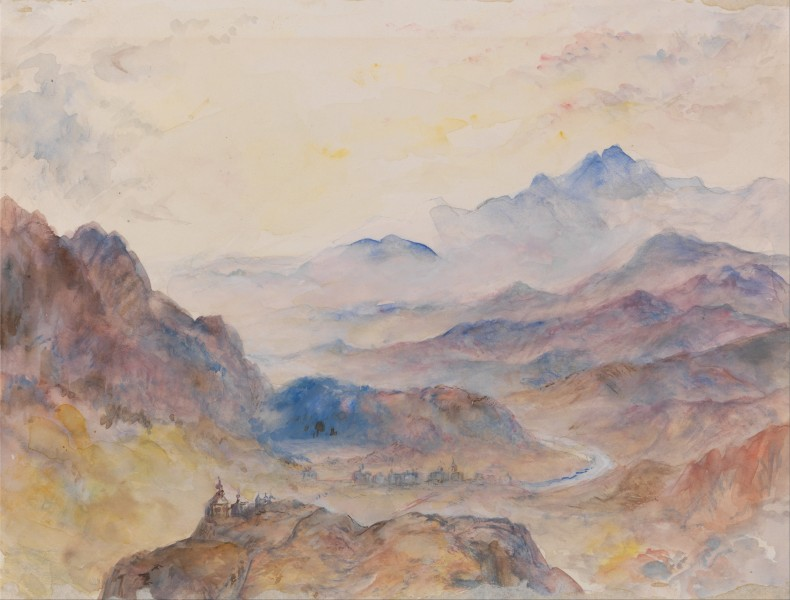 Mountain Scene, Mist Rising - Google Art Project