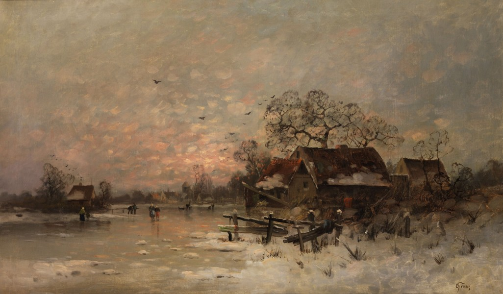 Otto Fedder - Winterlandschaft