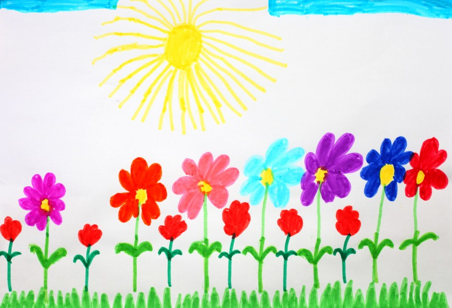 a painting by a 4 to 6 year old girl, picture 3