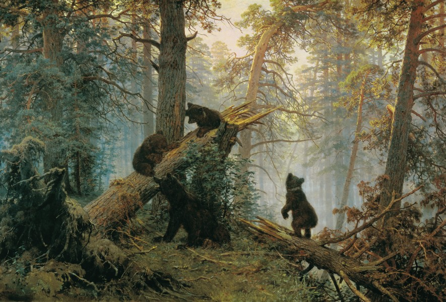 Shishkin, Ivan - Morning in a Pine Forest