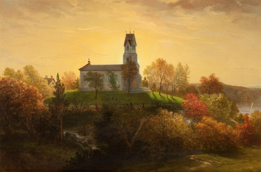 St Marys in the Highlands-Louis Lang-1865