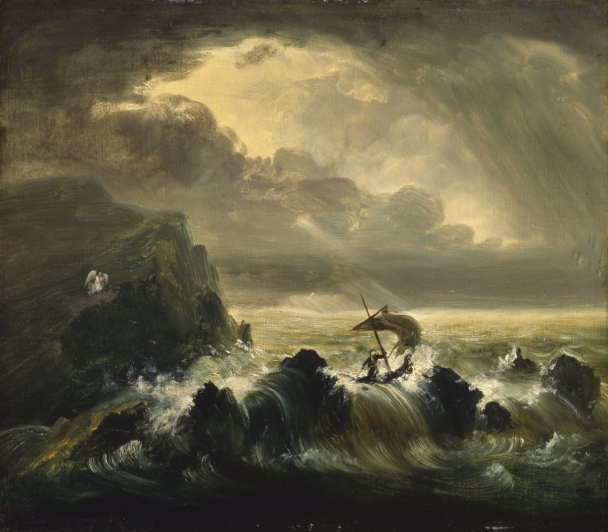 Thomas Cole - The Voyage of Life Manhood, 1839 (Albany Institute of History & Art)