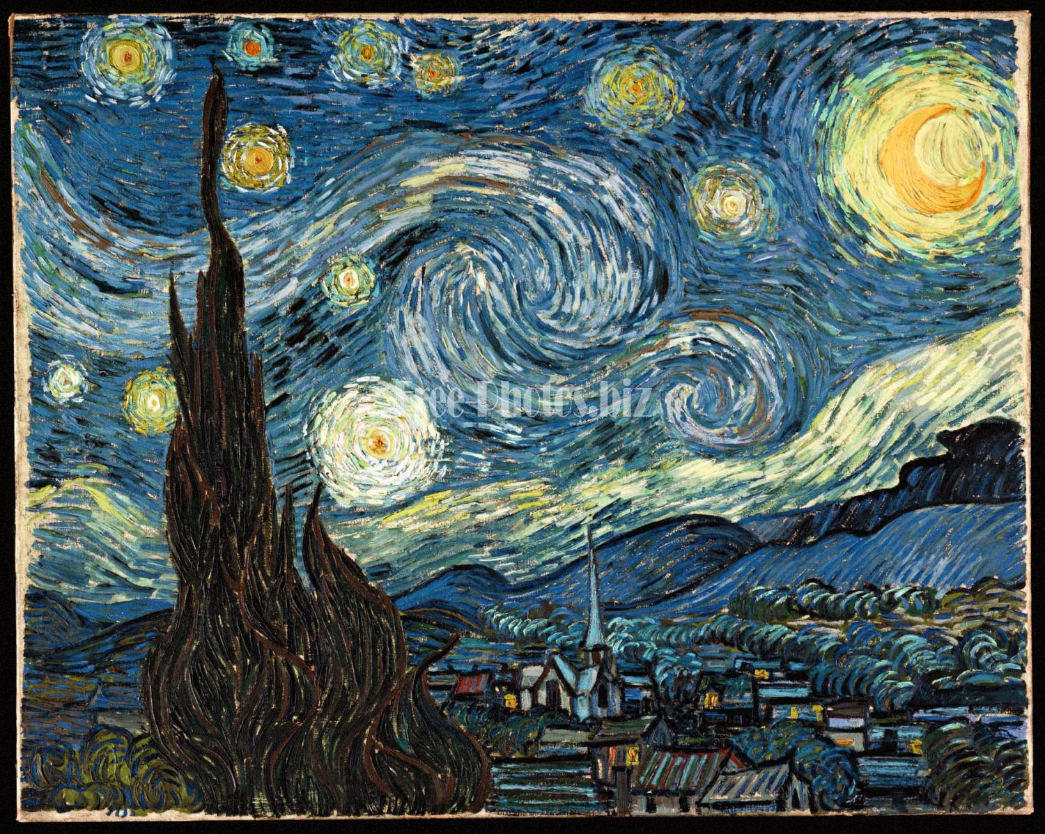 VanGogh-starry night edit