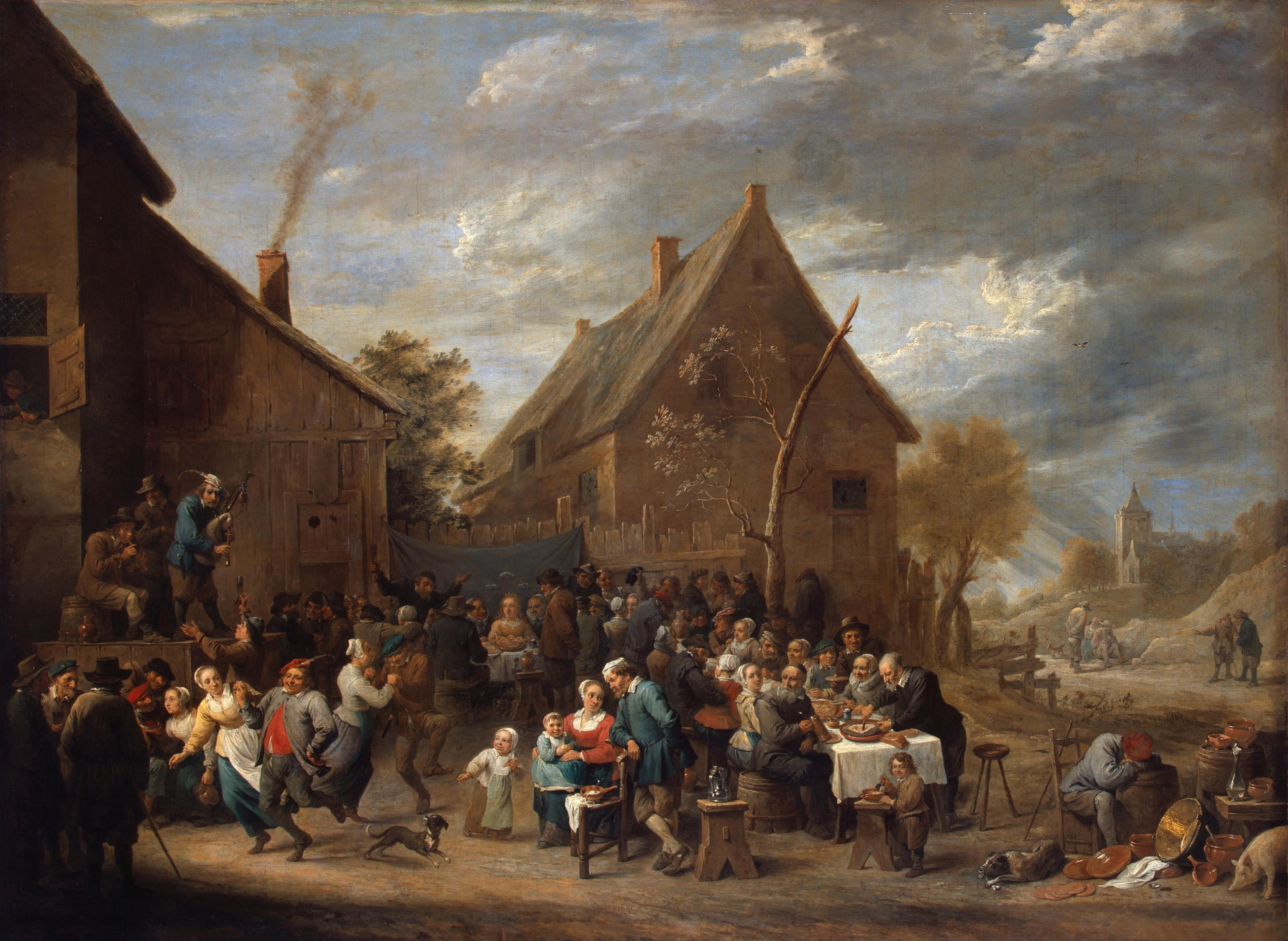 David Teniers de Jonge - Peasant Wedding (1650)
