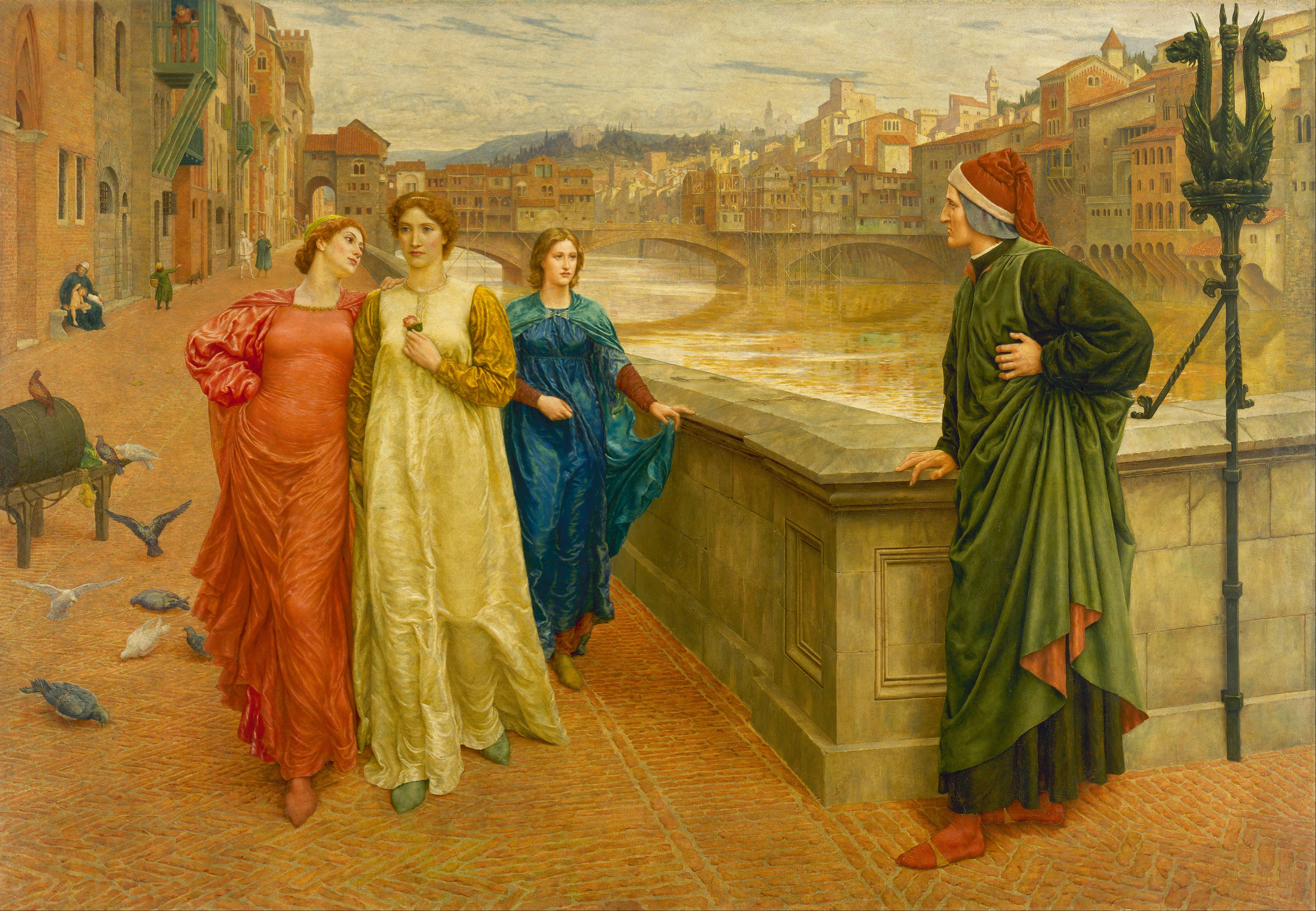Henry Holiday - Dante and Beatrice - Google Art Project