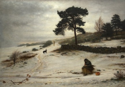 John Everett Millais - Blow Blow Thou Winter Wind - Google Art Project