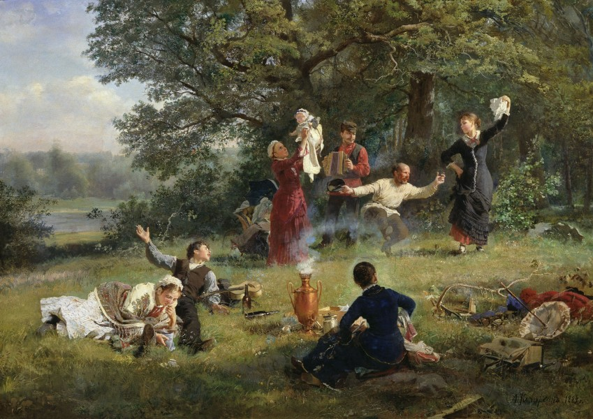 Alexey Korzukhin, The Sunday 1884