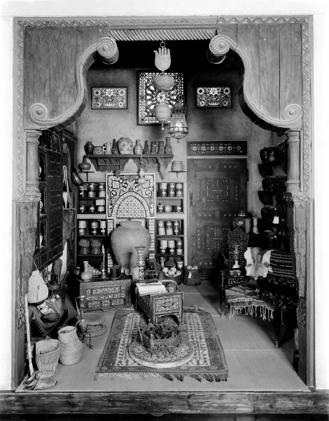 An Arab pharmacy in Damascus, interior view. Wellcome M0006340