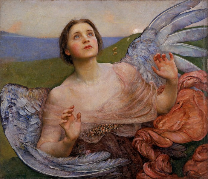 Annie Louisa Swynnerton (née Robinson) - The Sense of Sight - Google Art Project