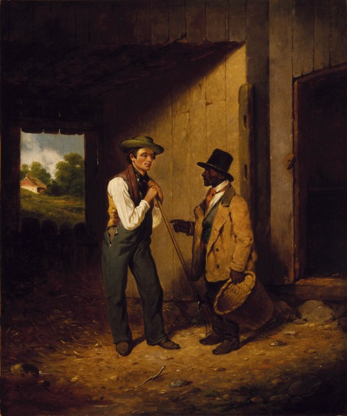 Brooklyn Museum - All Talk and No Work - Francis William Edmonds - overall