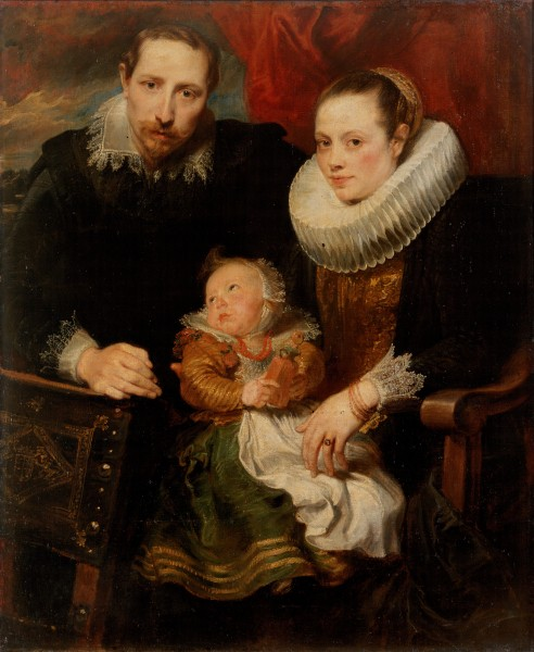 Dyck, Anthony van - Family Portrait