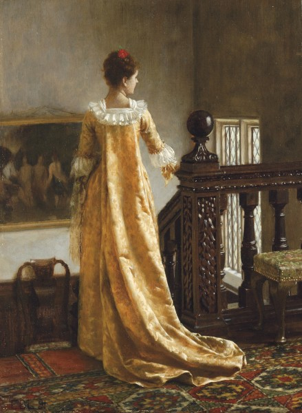 Edmund Blair Leighton - The Golden Train