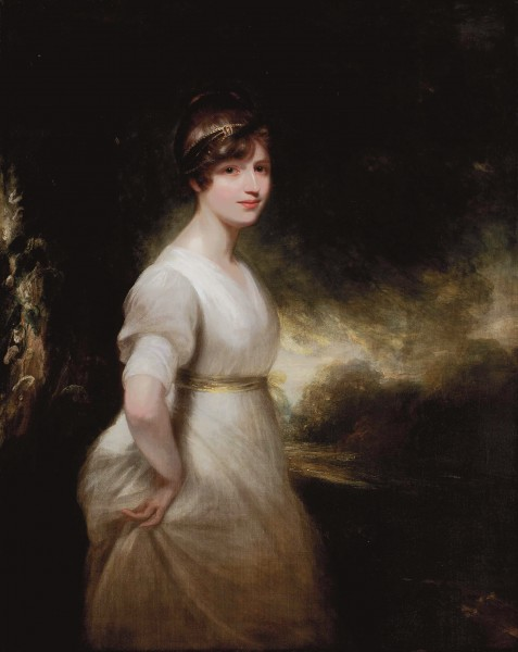 Elizabeth Charlotte Eden, Lady Godolphin (1780-1847), by William Beechey