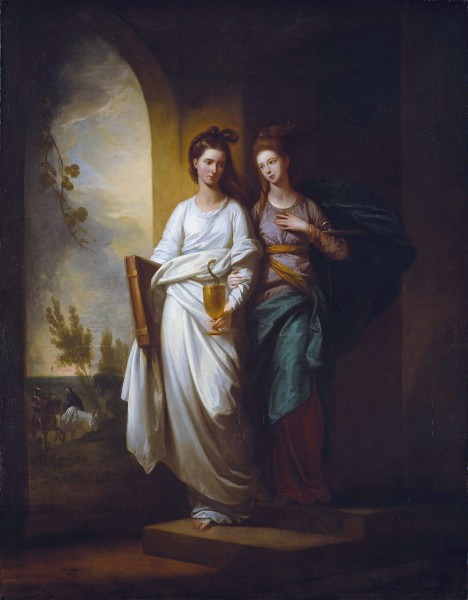 Fidelia and Speranza by Benjamin West, Timken Museum of Art