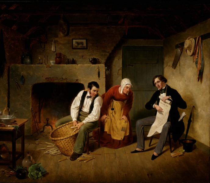 Francis William Edmonds - The Speculator - Google Art Project